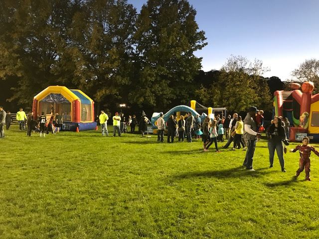 Bounce houses - field